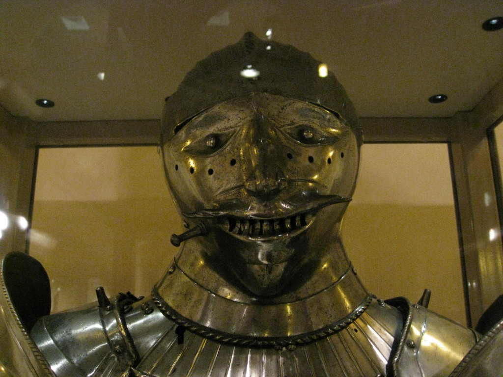 Helmet with Human face